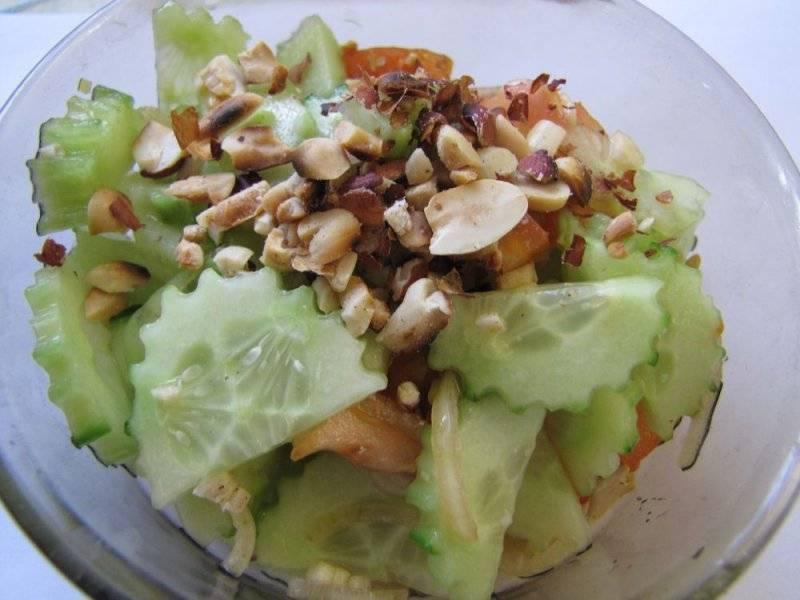 Салаты с соленым арахисом рецепты с фото