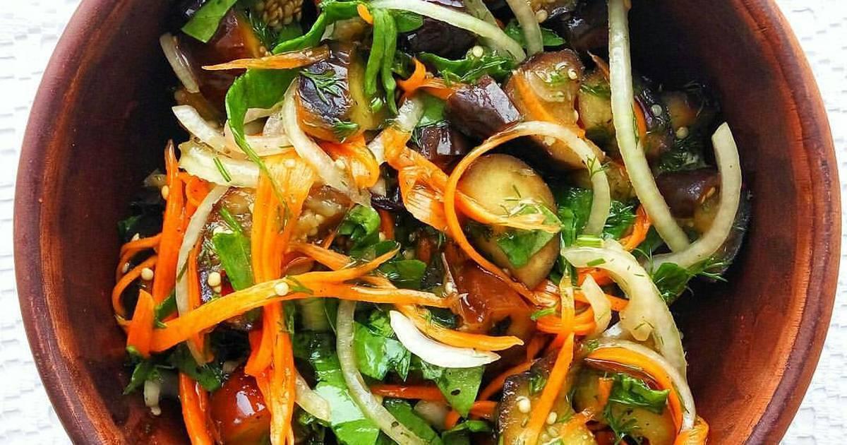 Баклажаны по-корейски, самый вкусный рецепт