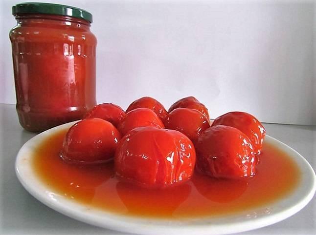 Как приготовить помидоры в собственном соку на зиму по пошаговому рецепту с фото