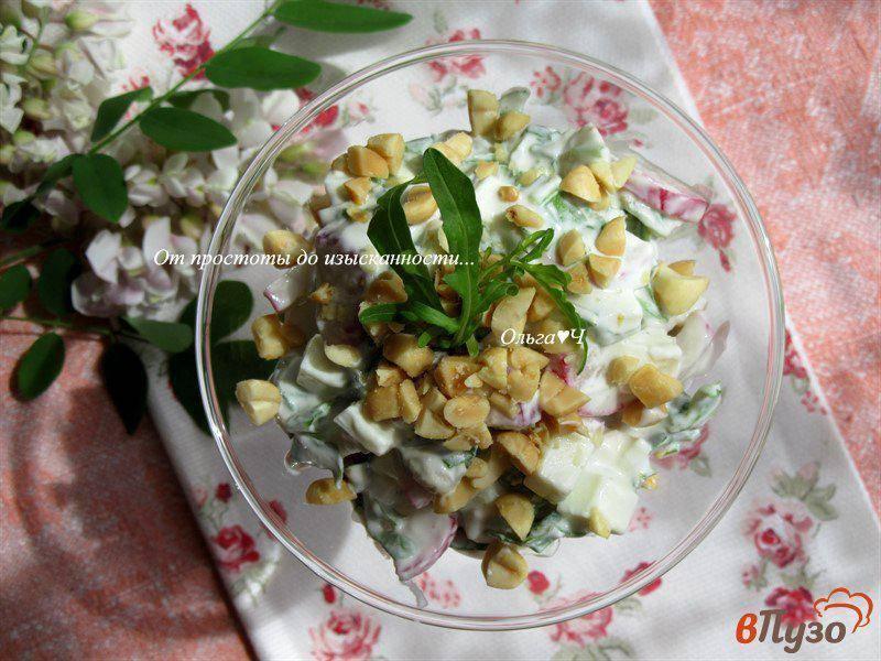 Салат с с арахисом, вкусные рецепты с фото