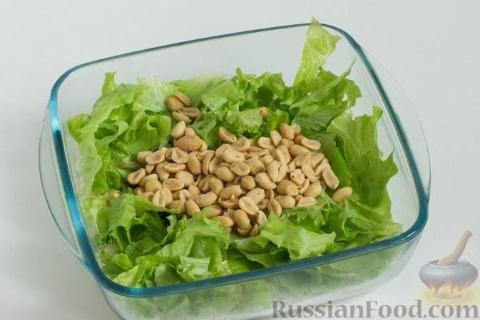 Рецепты необычных салатов с арахисом