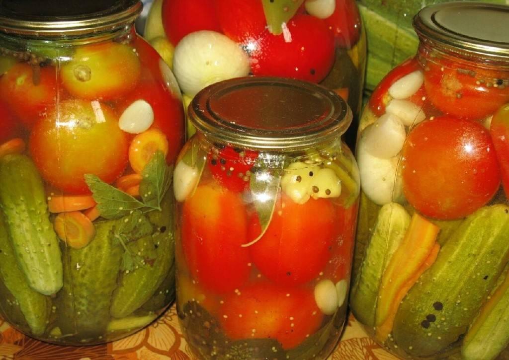 Овощное ассорти на зиму — рецепт пальчики оближешь
