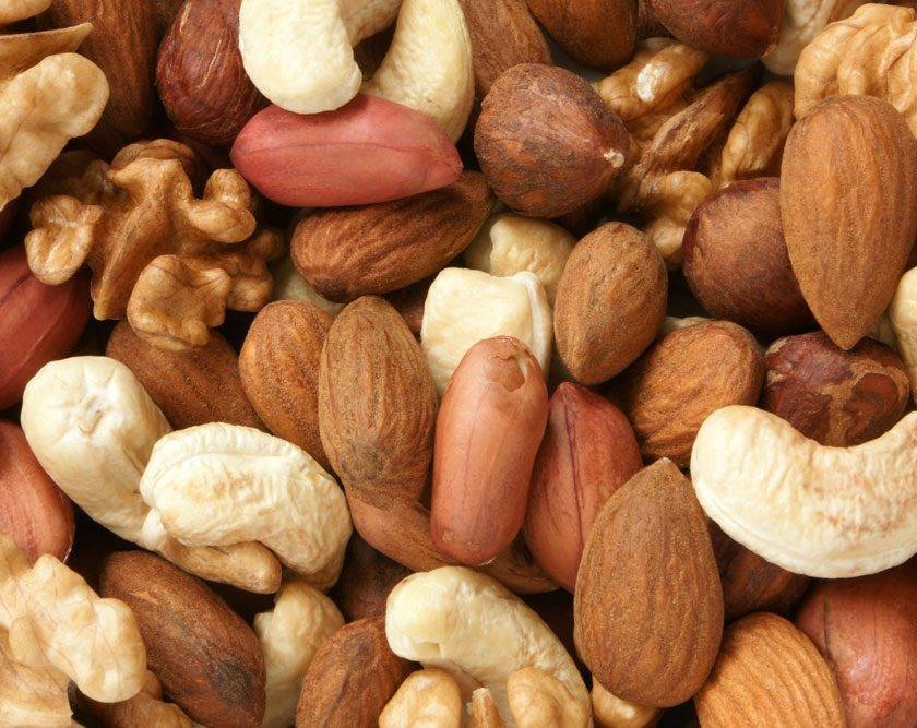 Какие бывают виды орехов?