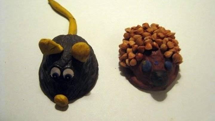 Поделки из орехов: удивительное преображение ореховой скорлупы