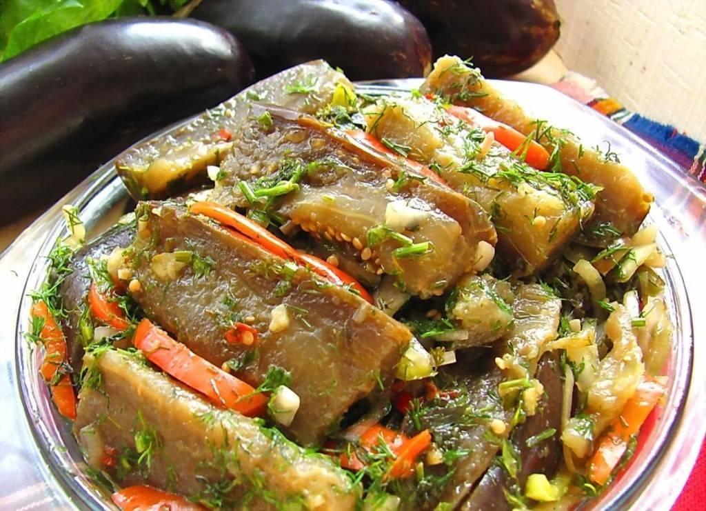 Маринованные баклажаны быстрого приготовления. пошаговые рецепты вкуснейшей закуски