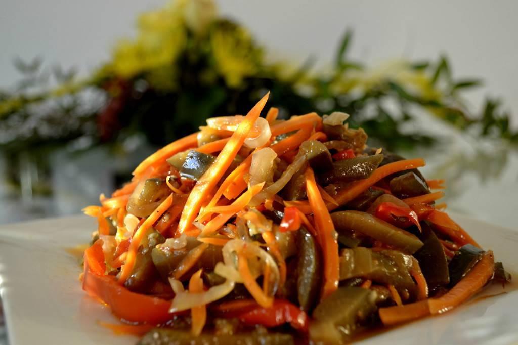 Баклажаны по-корейски: самый вкусный рецепт быстрого приготовления