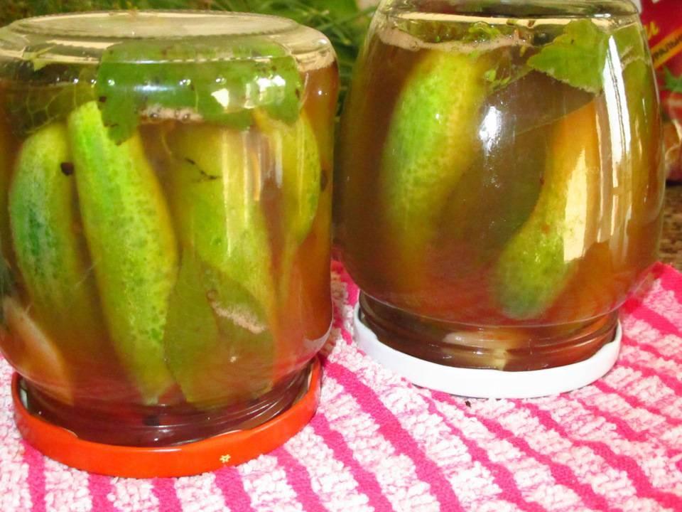 Огурцы с кетчупом на зиму — 4 самых вкусных рецепта