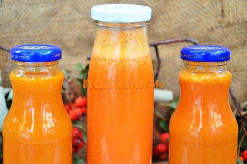 Морковный сок на зиму - рецепты и приготовление