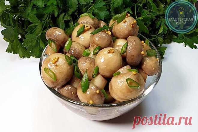 Рассол для грибов маринованных. маринованные шампиньоны в домашних условиях — 7 очень вкусных рецептов быстрого приготовления   здоровье человека