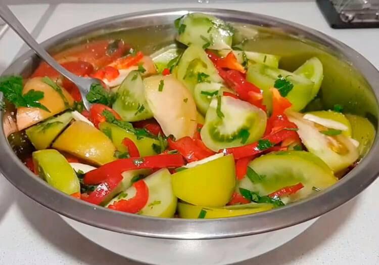 Зеленые помидоры на зиму — 10 ну очень вкусных рецептов заготовок