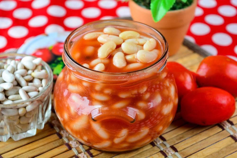 Рецепты фасоль в томатном соусе
