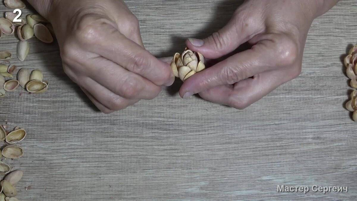 Как очистить орех пекан от скорлупы