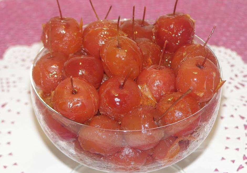 Варенье из целых яблок прозрачное рецепт. варенье из райских яблок с хвостиками