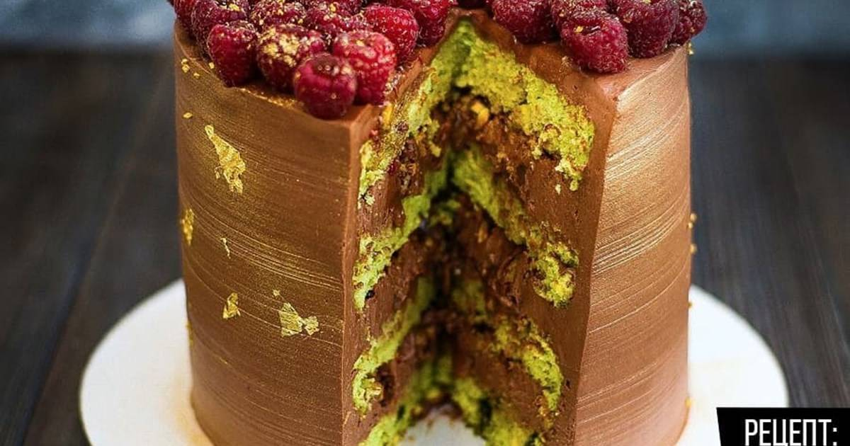 Фисташковый муссовый торт - лучшие рецепты с фото в домашних условиях