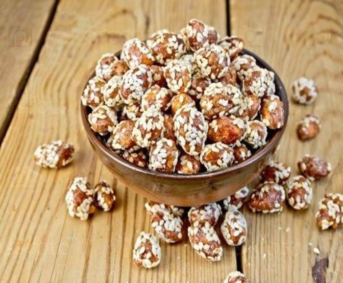 Польза и вред арахиса в кунжуте, кунжута с медом, в пасте