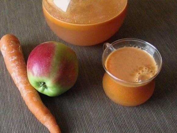 Как сделать морковный сок?