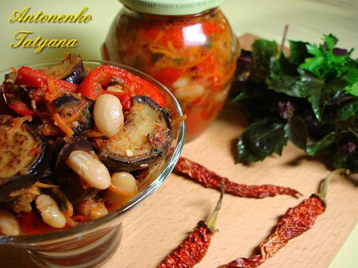 Салат из баклажанов на зиму - 10 самых вкусных рецептов пальчики оближешь с фото пошагово