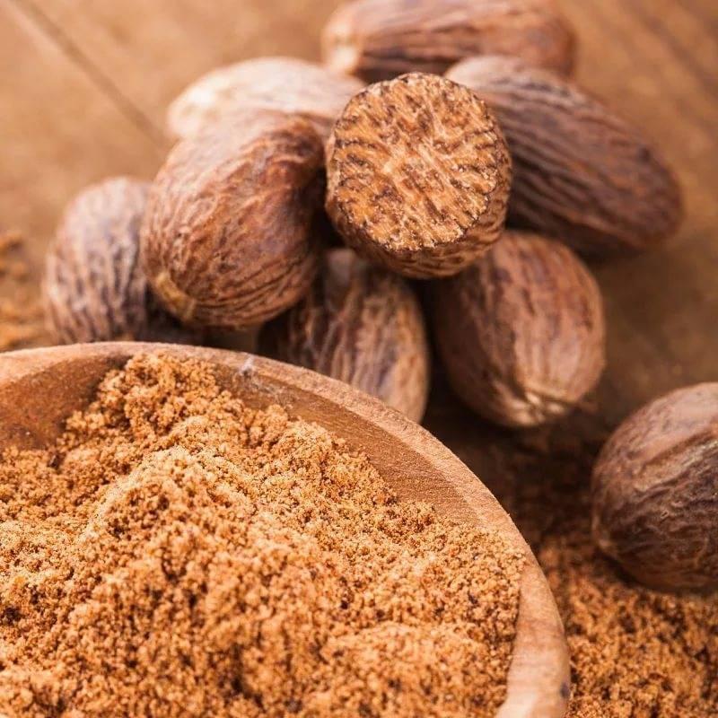 Эфирное масло мускатного ореха: состав и свойства. мускатное масло в косметологии, кулинарии и ароматерапии   знать про все