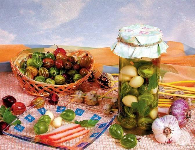 Черный крыжовник: рецепты на зиму :: syl.ru