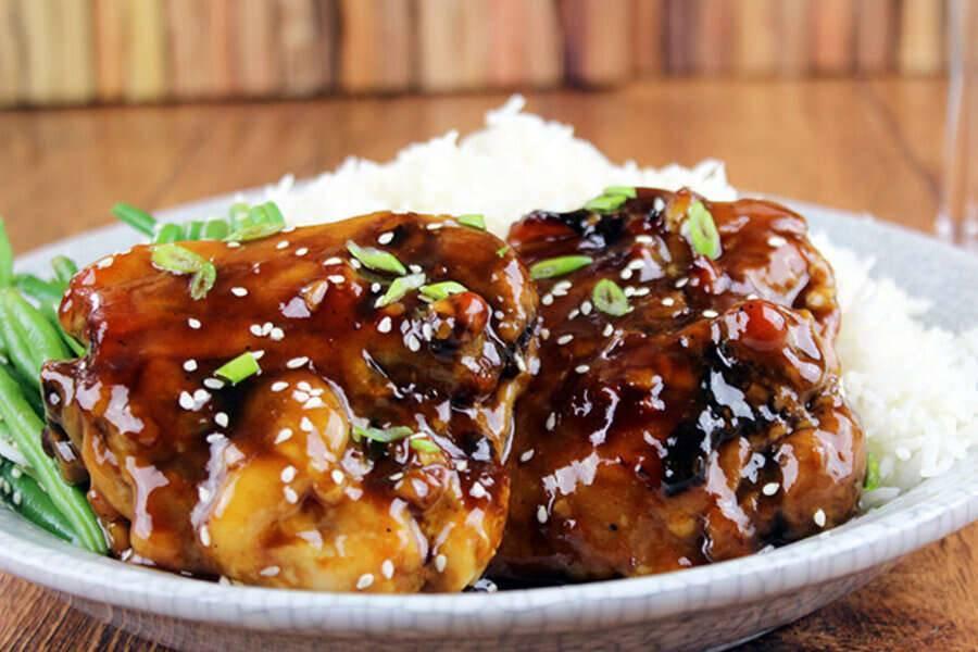 Куриное филе в соусе терияки – кулинарный рецепт