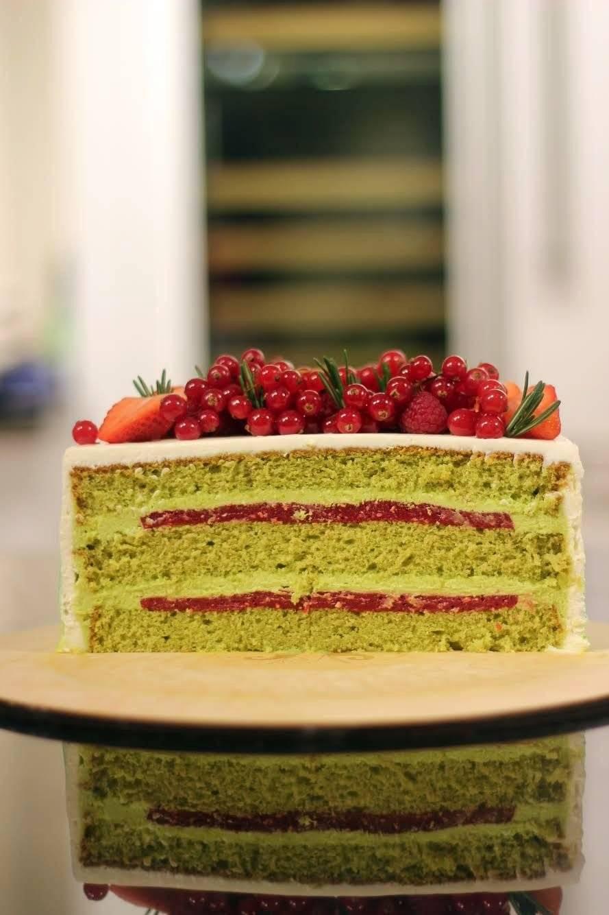 Торт фисташка малина рецепт с фото пошагово