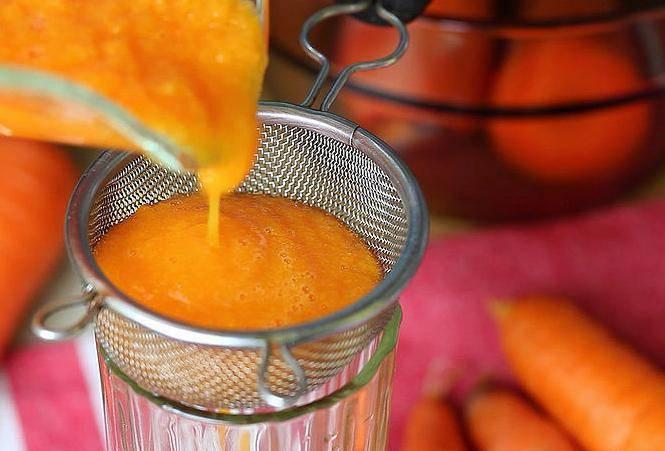 Как сделать морковный сок на зиму в домашних условиях