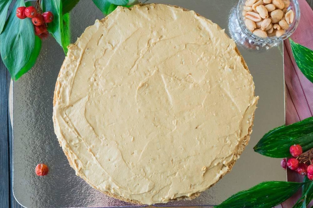 Торт с карамель и арахисом «сникерс» - как правильно приготовить, лучший рецепт с фото