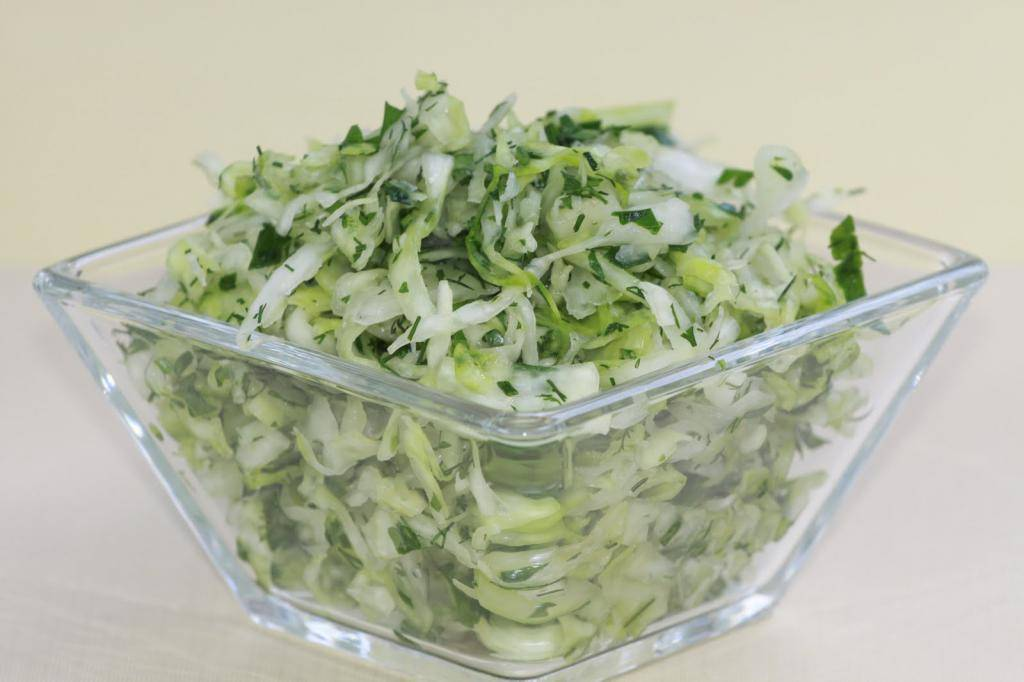 Салаты из свежей капусты с огурцом - 15 простых и вкусных рецептов