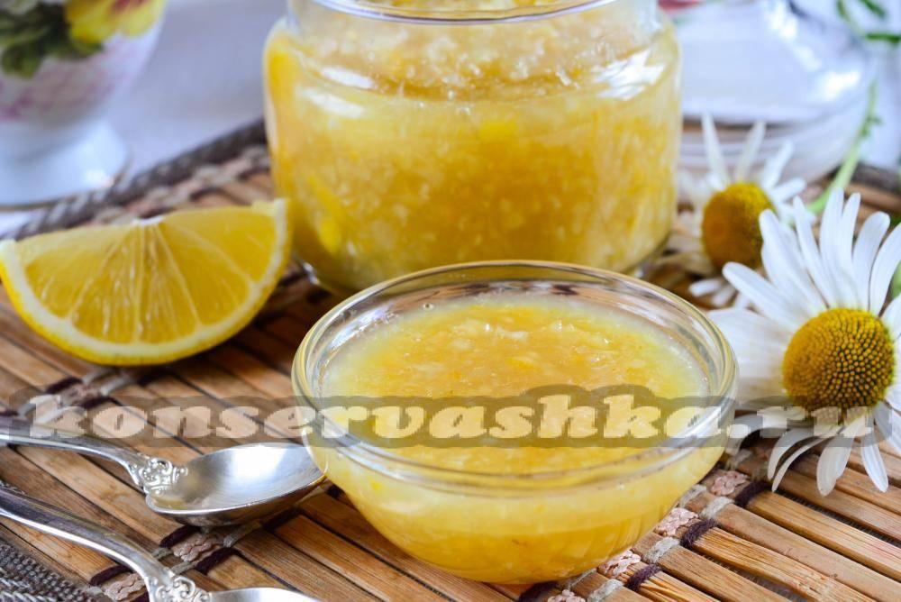 Лучший рецепт лимонного варенья
