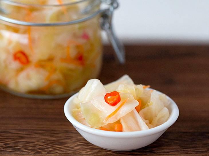 Маринованная капуста быстрого приготовления – 5 вкусных рецептов