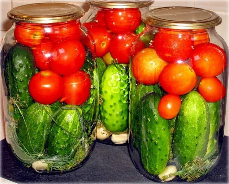 Овощное ассорти на зиму - рецепт пальчики оближешь