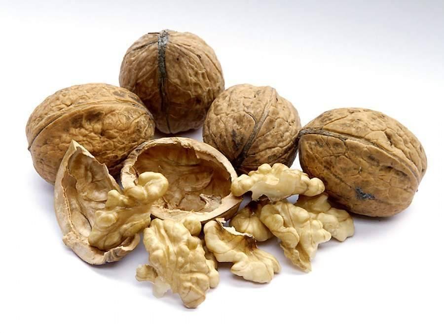 Грецкие орехи плохо отделяются от скорлупы