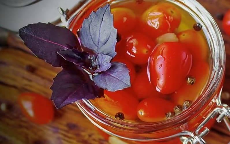 Маринованные помидоры - 10 наивкуснейших рецептов на зиму с пошаговыми фото