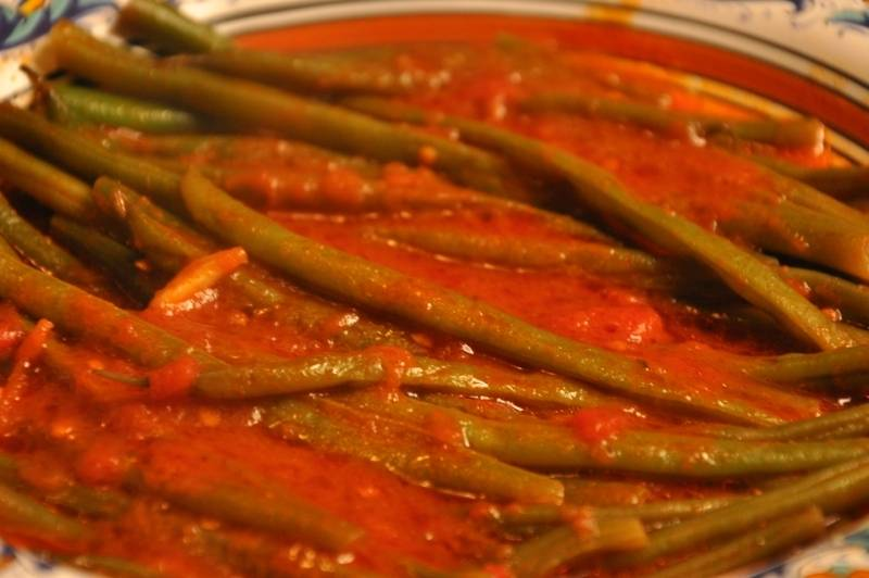 Рецепты фасоли в томатном соусе