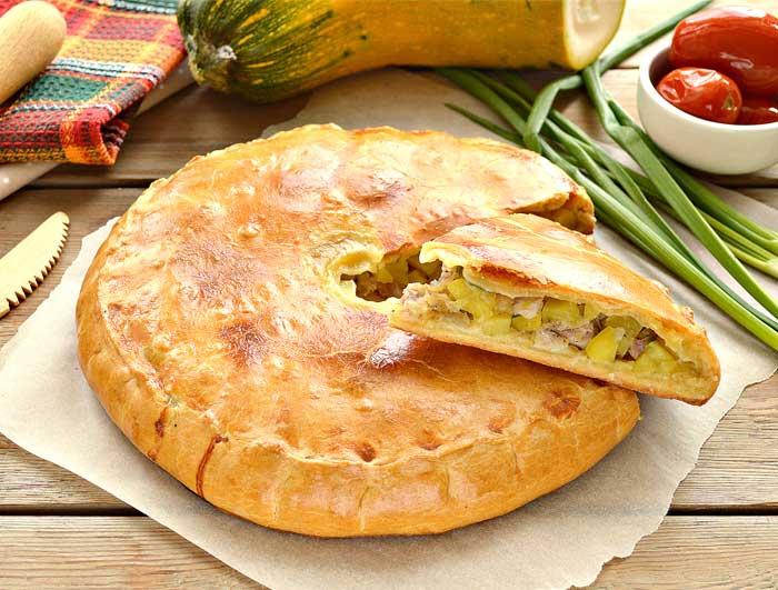 Пироги с мясом - 15 простых и вкусных рецептов приготовления