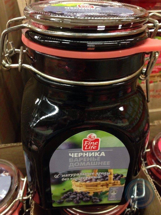 Как дома приготовить джем из черники?