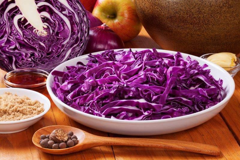 Краснокочанная капуста на зиму - самые лучшие идеи хранения и консервации овощей