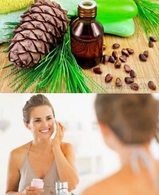 Кедровое масло для лица: применение в косметологии, рецепты