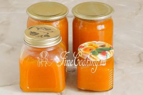 Самое вкусный джем из абрикосов