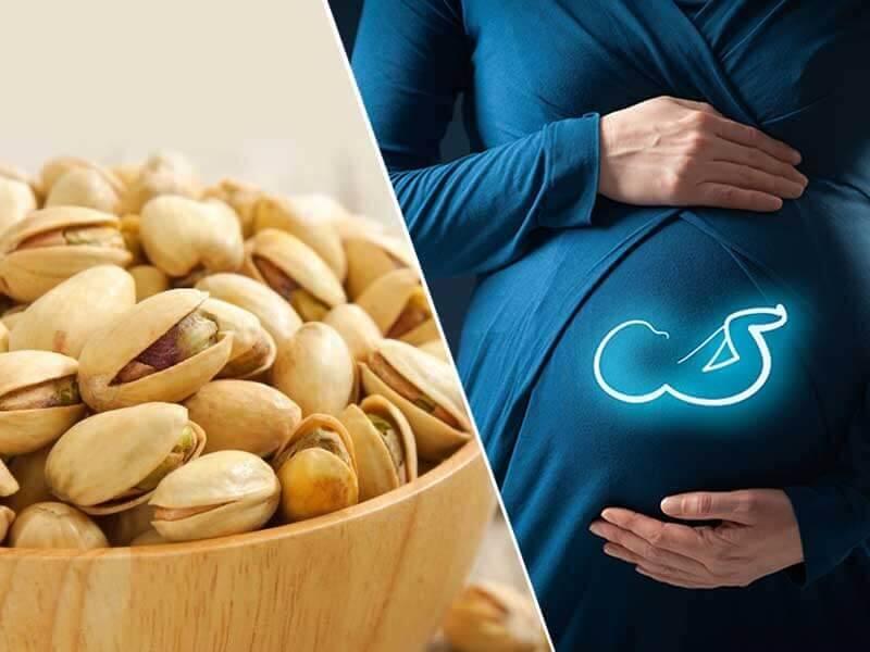 Фисташки при беременности и грудном вскармливании