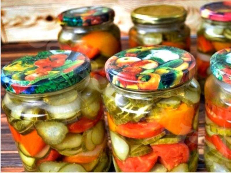 Салаты из огурцов на зиму - 10 самых вкусных рецептов пальчики оближешь с фото пошагово