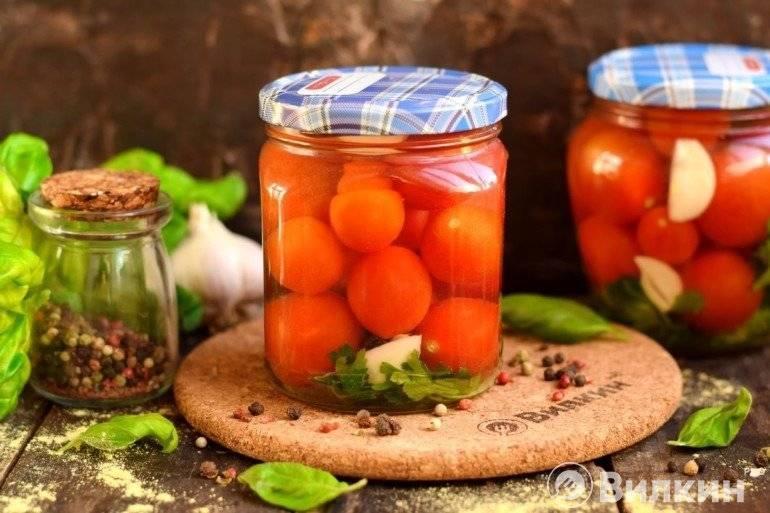 Маринованные помидоры на зиму — очень вкусные и сладкие