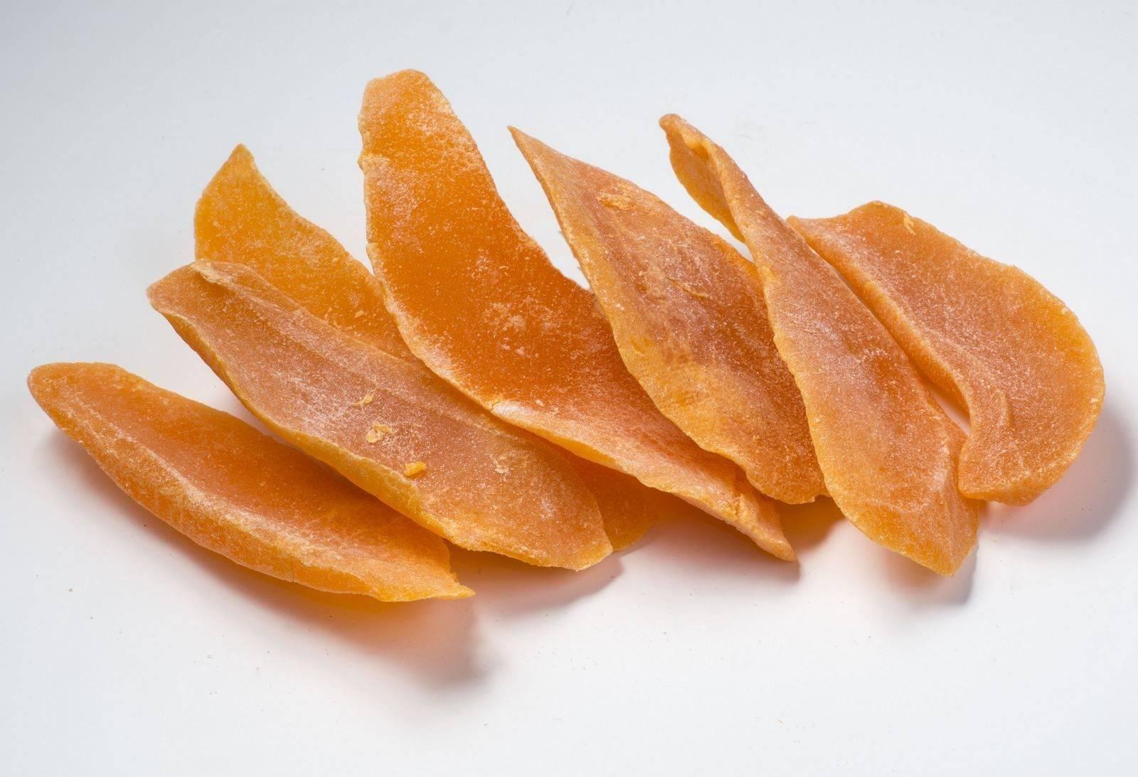 Калорийность сушенной дыни, а также характеристика ее полезных свойств