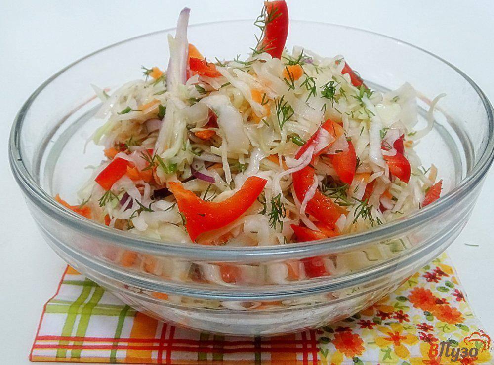 Салат из капусты на зиму в банках - очень вкусные рецепты