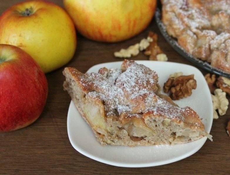 Ореховый пирог с орехами - 209 домашних вкусных рецептов