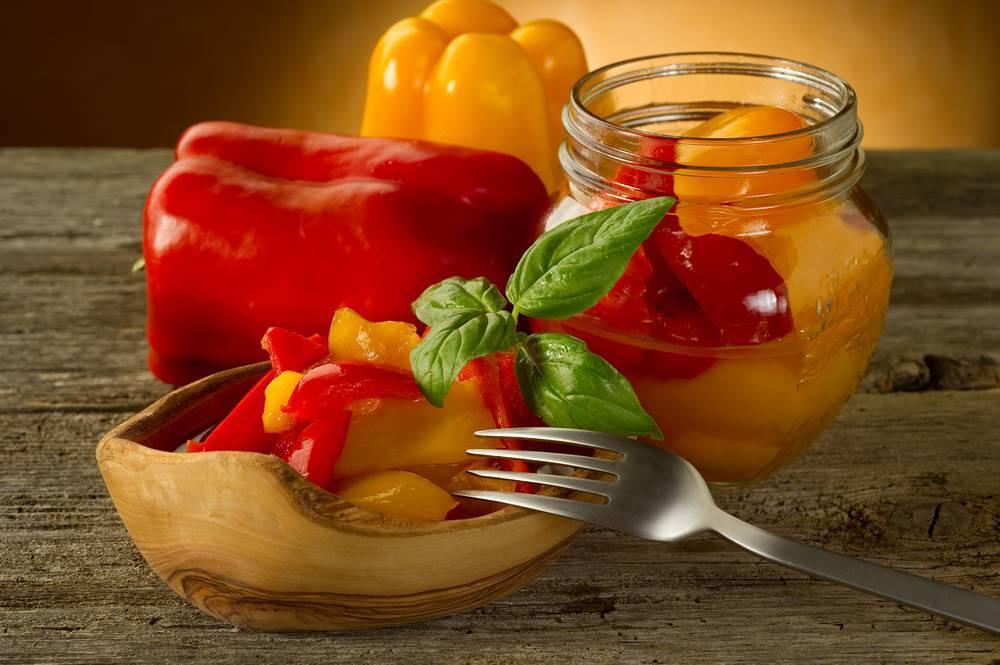 Маринованный сладкий болгарский перец
