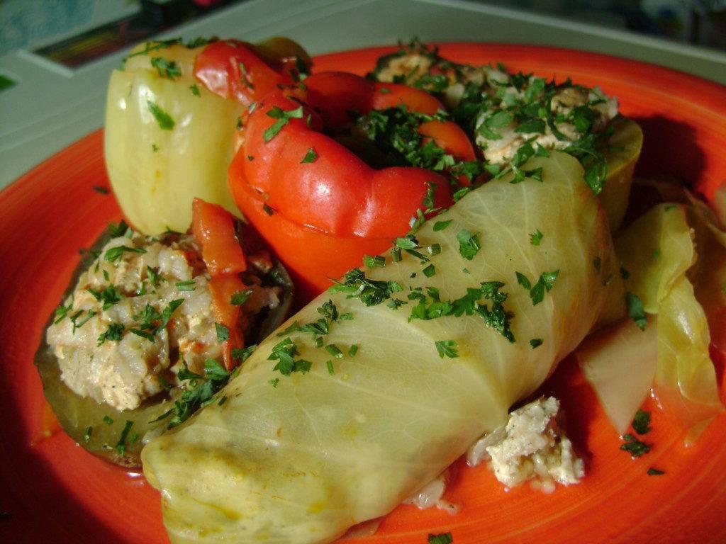 Овощные голубцы – пошаговый рецепт с фото на повар.ру