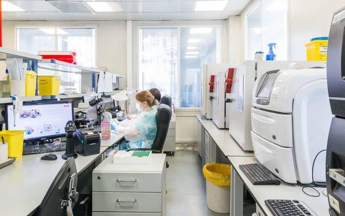 Организация бактериологических лабораторий