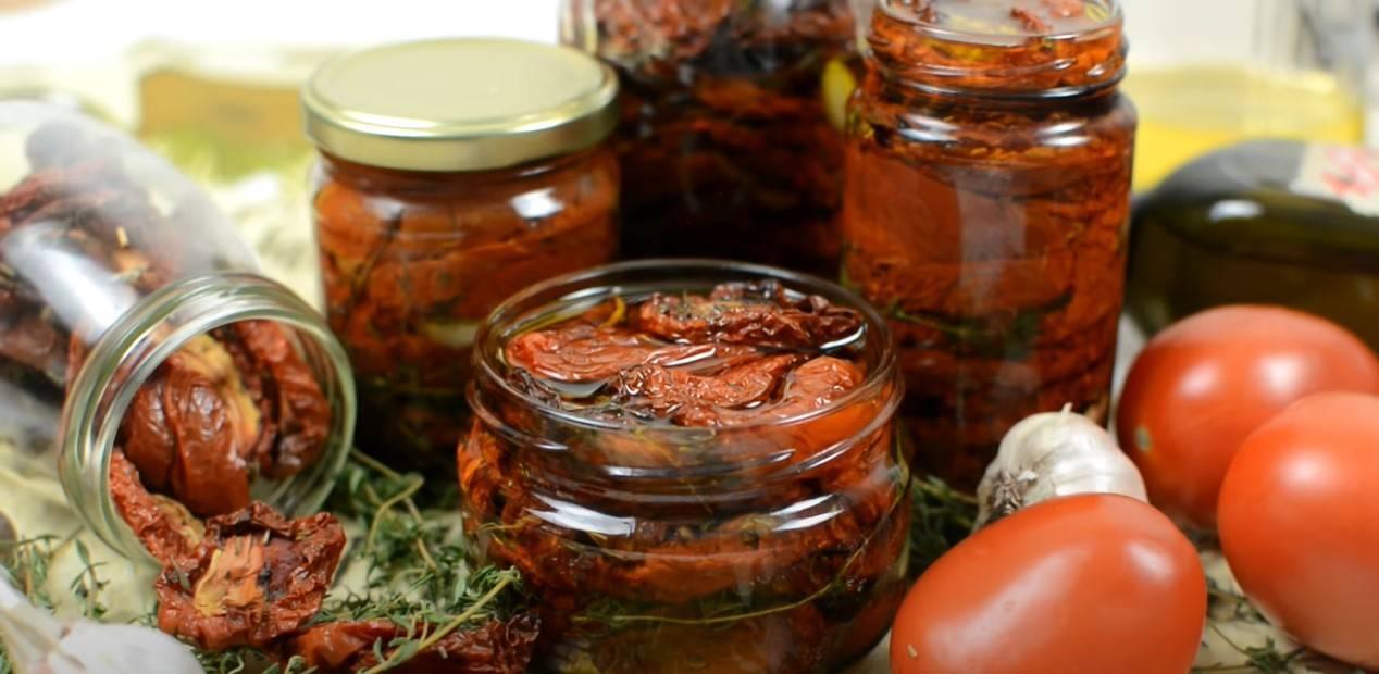 Вяленые помидоры: рецепт приготовления в духовке