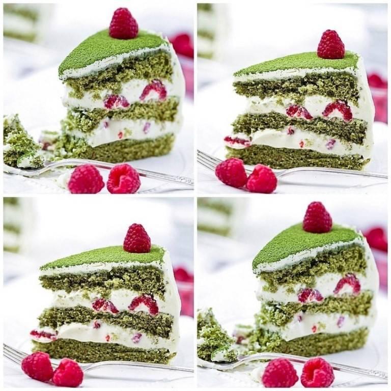 Торт «фисташка-малина»: ингредиенты, рецепт с фото, особенности приготовления